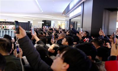 成都大悦城三周年店庆,15小时创3307万业绩