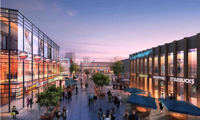 有街&有MALL&有广场&有世界 兰石・豪布斯卡 城央繁华商业 让改变看得见