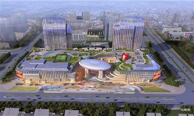 扬州商业新名片:五彩世界生活广场 12月23日盛大开幕