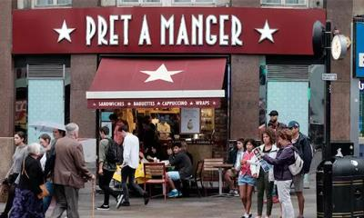 英国简餐品牌Pret A Manger拟关闭内地仅有的2家店 将专注香港业务