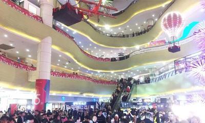 """扬州五彩世界亮相 京华城商圈进入""""一核两翼""""时代"""
