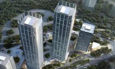 绿地海外滩项目开建 系青岛首个超高层双子塔项目