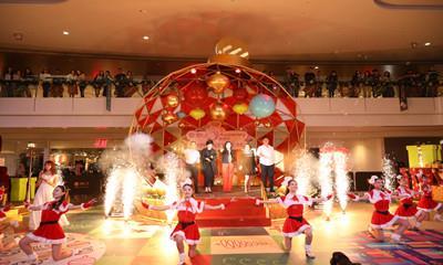"""皇庭广场举行圣诞亮灯仪式   """"胡桃夹子""""歌舞剧嗨翻天"""