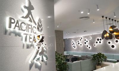 """太平洋咖啡试水茶饮市场 在上海开出了全国首家""""太茶""""门店"""