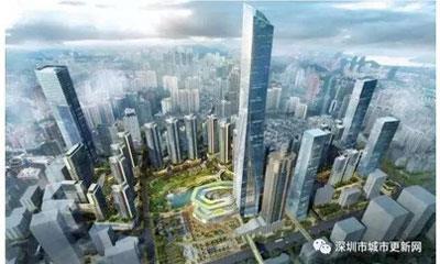 华润置地深圳湖贝塔规划增至700米 预计2019年正式动工开建