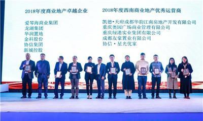 第六届商业推动地产・西南峰会「金坐标」奖项名单揭晓!