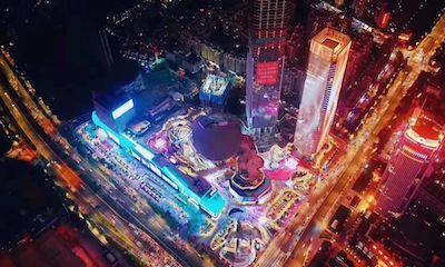 工作日开业客流突破50万 85张图还原民盈国贸城开业现场