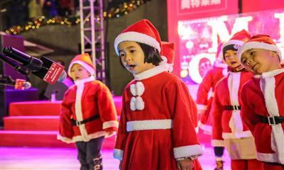 青岛海上嘉年华圣诞亮灯 打造西海岸全业态商旅综合体