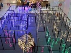 天津众多大型购物中心借节造势 商场推销浪漫