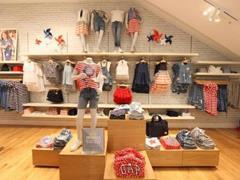 ZARA、C&A、GAP等快时尚品牌开设童装店 中国童装市场潜力巨大