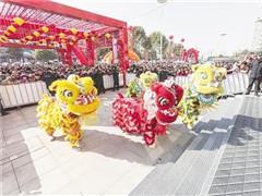 """漯河开源大未来购物中心开业 系12万�O""""双Mall""""商业综合体"""