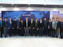 华润集团董事长傅育宁访问腾讯总部 与马化腾等会谈