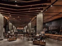 """星巴克在西雅图开出新的臻选门店 设计风格类似""""市集"""""""