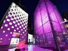 深圳万象城推MixC Crystal华南最大灯光艺术装置 成网红打卡地