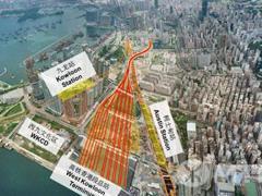 香港下年或供应高铁上盖商业地块 估值最高达949亿港元