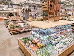 无印良品又放大招 这次开了家全球最大的生鲜菜市场