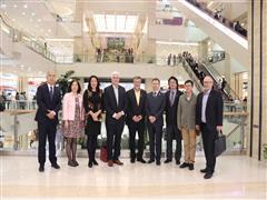 加拿大哥伦比亚省鲍威尔河市长率团访问西安赛格国际购物中心