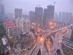 长沙开福区维多利亚购物中心闲置11年于3月25日拆除
