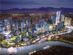 周大福、新世界发展80亿深圳前海项目开工 将建地标式双子塔