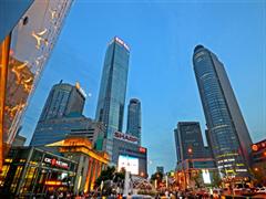 """新街口""""四大金刚""""年销售额近220亿 德基广场仅次于北京SKP"""