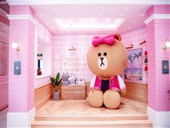 全球最大LINE FRIENDS概念店正式落户杭州湖滨银泰in77
