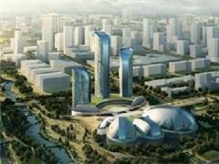 济南西城21.5万�O综合体开建 与周边宜家、麦德龙等激活商圈