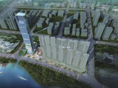 江门悦泰・珠西商务中心一期拟建300米高70层商业综合体