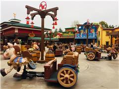 上海迪士尼首个扩建项目开业 旅游度假区两年游客超3400万