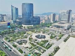 杭州核心商圈实力在新一线城市中排第一