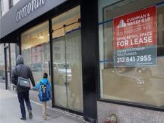 美国购物中心空置率创六年新高 零售业萧条冲击地方经济