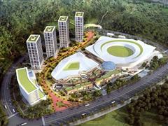 华中首个冰雪主题小镇明年9月开业 拟建商业街区、乐园等