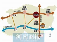 """郑州 """"多中心、组团式""""的    整体空间结构已初步形成"""