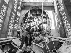 郑州市轨道交通3号线一期工程 实现首个盾构区间双线贯通