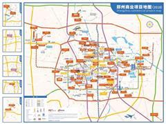 涵盖99个项目的郑州商业地图 呈现郑州当前商业特征
