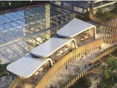 生长在艺术公园里的购物中心 杭州EFC LIVE欧美广场预计今年开业