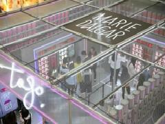 日均客流量1000+ 玛丽黛佳无人店挤爆北京西单大悦城