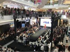上海悦荟广场喜迎FILA大中华区最大旗舰店开业
