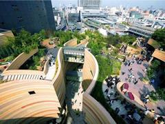 购物中心屋顶能做什么?跑马场、花鸟市场、儿童游乐场等