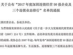 深圳连锁经营50强发布:华润万家、沃尔玛等企业均上榜