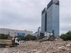 南昌八一广场周边3栋大楼爆破 苏宁广场建设进程加快