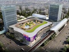 上海奉贤万达广场效果图出炉 项目总建筑面积约26万㎡