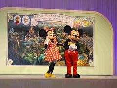"""东京迪士尼乐园大规模扩建:新增""""冰雪奇缘""""等三大主题园区"""