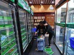 三江无人超市亮相昆明广福小区 设置自助餐厅