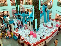 悦地购物中心携手悠游堂 人气IP冷兔城堡完美亮相