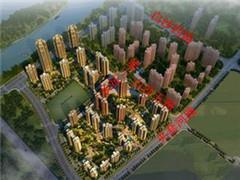 """武汉白沙洲将建大型城市综合体""""万科云城"""" 总投资64亿"""