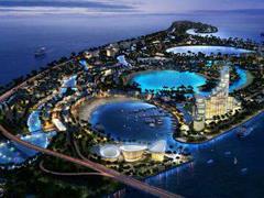 中弘出让海南如意岛予佳兆业 项目商服设施用地计容建筑425万�O