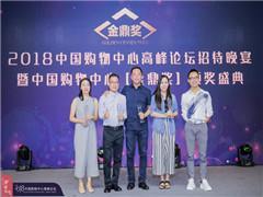 """百盛张瑞雄荣获""""2018年度中国购物中心原创时代人物""""奖项"""