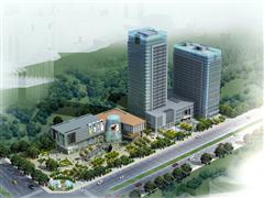 经开泾渭新城首个高端商务综合体 泾渭国际中心助力大西安追赶超越