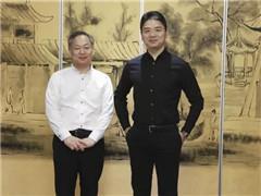 618后刘强东与松崎晓会面 京东、无印良品战略合作升级