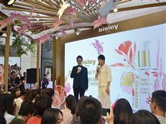 Sisley法国希思黎携手人气偶像韩东君 顺城—王府井点亮心愿